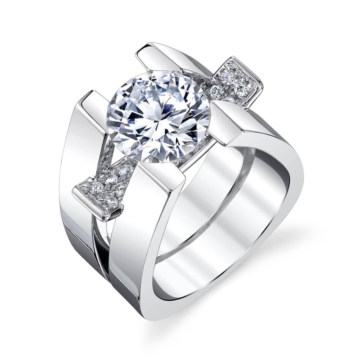 Jewelry Store Unique Engagement Wedding Rings Diamond