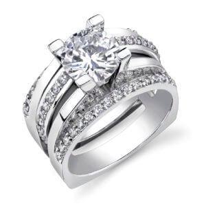 pave ring design