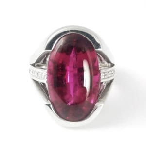 Rubellite Ring CH599 Front View