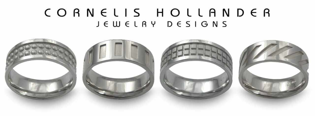 Cornelis Hollander wedding bands